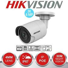 HIKVISION 6MP 3K Camera IP Network PoE 4MM Bullet Face Behavior  DS-2CD2063G0-I