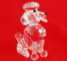 "POODLE figurine SWAROVSKI CRYSTAL NEW IN BOX 1.75"" tall made in Austria Original"