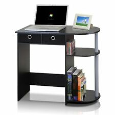 Computer Desk For Small Spaces Home Office Furniture Table Workstation Black USA