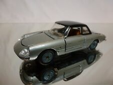 MEBETOYS A-18 ALFA ROMEO SPIDER DUETTO - GREY METALLIC 1:43 - GOOD CONDITION