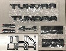 NEW SOUTHEAST TOYOTA BLACK OUT EMBLEM OVERLAY KIT  2018 + TUNDRA 00016-34850