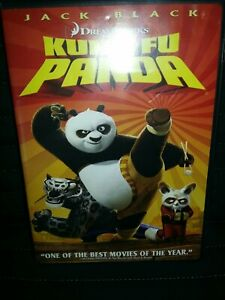 KUNG FU PANDA DVD WIDESCREEN-Jack Black~special features-FREE SHIP-DREAMWORKS
