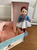 "Vintage 1967 Madame Alexander 8"" Greek Boy Doll 769 Friends from Foreign Land"