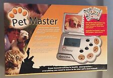 Brand New - Pet Master Excalibur Electronic Pet Info Resource System