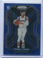 2020-21 Prizm Tyrell Terry True Blue Foil Rookie Card RC /199 Rare Parallel