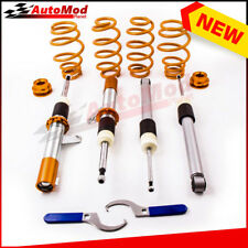 For VW GOLF MK5 - MK6 50/55MM COILOVER ADJUSTABLE SUSPENSION KIT- COILOVERS
