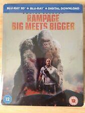 Rampage 3D Blu Ray Steelbook