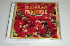 DAS GOLDENE JAHR DER VOLKSMUSIK 2 CD'S MIT TEDDY PARKER ALPENREBELLEN CASANOVAS