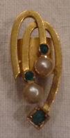 JUGENDSTIL KETTENSCHIEBER 14 Karat Gold 585/f. Perlen vor 1910 DEUTSCHLAND