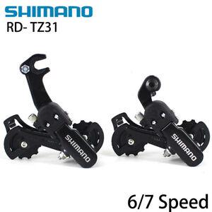 Shimano RD-TZ31 5/6/7 Speed Mountain Bike Bicycle Rear Derailleur Black US New