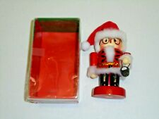 "Kurt Adler Wood Nutcracker with Lantern Christmas Decor 5"" Tall"
