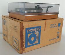Thorens TD 160 Belt Drive Turntable with Original Box / Manual
