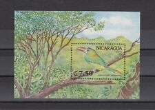 TIMBRE STAMP BLOC NICARAGUA  Y&T#205 OISEAU BIRD  NEUF**/MNH-MINT 1991 ~A91