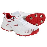 Woodworm Alpha Cricket Shoes with Spikes