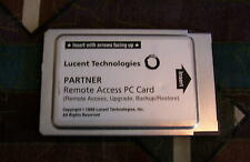 LUCENT PARTNER REMOTE ACCESS PC CARD