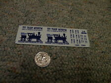 Herald King decals HO Toy Train Museum Strasburg Pa blue   XX278