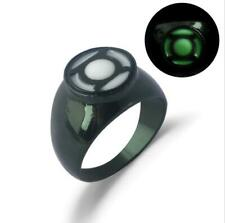 DC Green Lantern Corps Power Ring Figure Rings Men Ornament Collection 8-12#