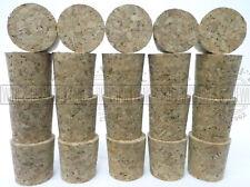 Homebrew Solid Cork Wine Demijohn Bung Pack Of 20 Bungs