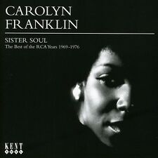 Carolyn Franklin - Sister Soul-The Best of the RCA Years 1969-1976 [New CD] UK -