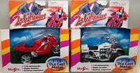 1994 Maisto 2-Wheelers 1:18 - Suzuki Police Cycle & Honda Sports Bike