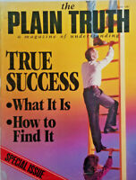 The Plain Truth Magazine June 1987 Ladder of True Success Special Issue VG