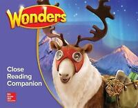 Wonders Close Reading Companion, Grade 5 (ELEMENTARY CORE READING)