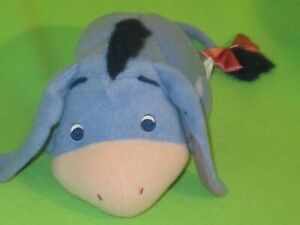 """Baby's First 2001 Plush Eeyore Toy With Rattle 10"""" Fisher Price Stuffed animal"""