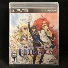 The Awakened Fate: Ultimatum (Sony PlayStation 3, 2015) BRAND NEW / Region Free