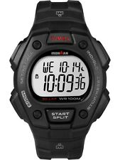 NEW Timex T5K822 Men's Ironman 30-Lap Resin Watch Alarm Indiglo Chronograph