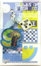 Gundam 00 Mr. Bushido Fastener Accessory September Metal Charm Anime Manga MINT