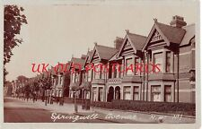 London NW10 - HARLESDEN,  Springwell Avenue,  Real Photo