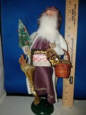 Byers Choice Carolers Victorian Santa 80th Birthday Piece 508 B