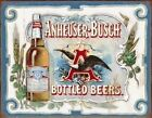 Anheuser Busch Bud Beer Old Style Tin Sign Retro Garage Home Bar Decor Gift USA