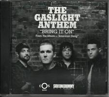 GASLIGHT ANTHEM Bring it on RARE RADIO DJ PROMO CD Single 2011 MINT