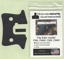 Tractiongrips grips for Kahr PM9, PM40, CM9, CM40 pistols /rubber pistol grip