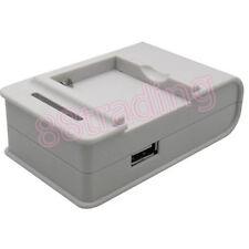 Ranura de batería externa cargador de escritorio con adaptador de Reino Unido para LG Optimus L7 P700