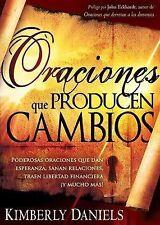 Oraciones Que Producen Cambios by Kimberly Daniels (2009, Paperback)
