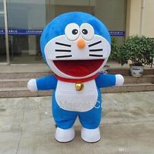 Doraemon Robot Cat Character Anime Manga Mascot Costume Suit Dress Xmas Party