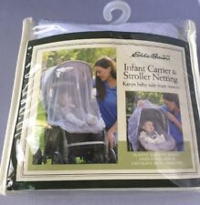 Eddie Bauer Infant Carrier &  Stroller Netting