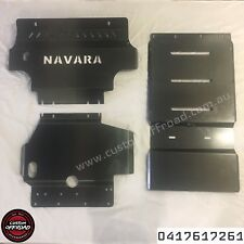 Navara D40 2012 - 15, 3 Piece Bash Plate Set Span/Thai 3mm Mild Steel
