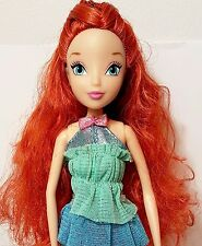 "Winx Club Jakks Pacific Bloom Fairy Doll 11.5"" Red Hair From Good vs Evil set"