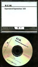 R.E.M. Supernatural Superserious Promo CD Single