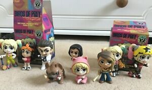 DC Mystery Minis Funko Birds Of Prey Harley Quinn choose your figure