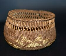 Northern California Oregon Hupa Tututni Indian Basket Native American Basketry