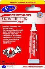 Threadlocker Locker High Strength RED Threadlock Thread Lock