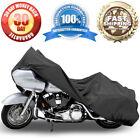 Motorcycle Cover Travel Dust For Harley Davidson Dyna Glide Fat Bob Street Bob