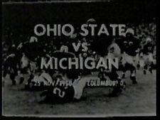 "1950 Ohio State vs Michigan ""Snow Bowl"" DVD JANOWICZ ORTMANN DUFEK Free Shipping"