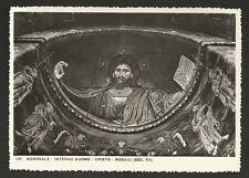 AD9530 Palermo - Provincia - Monreale - Interno Duomo - Cristo - Mosaici