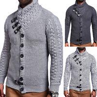 BEHYPE Strickjacke Pullover Schalkragen Sweatshirt Hoodie Winter-Jacke NEU