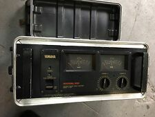 Yamaha P2200 Stereo Power Amp Amplifier with Case ,Vintage //ARMENS//